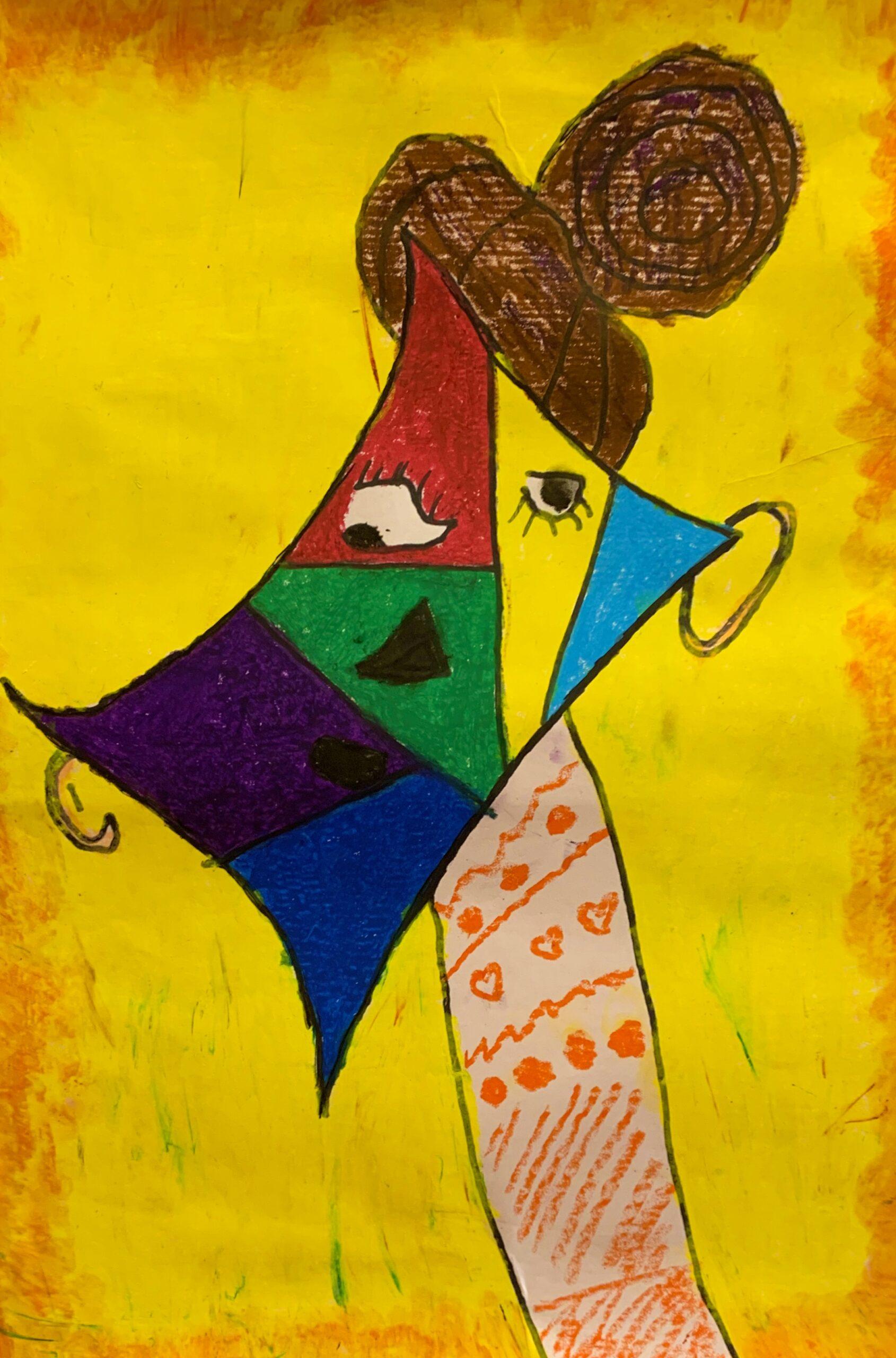 Amy Picasso Portrait