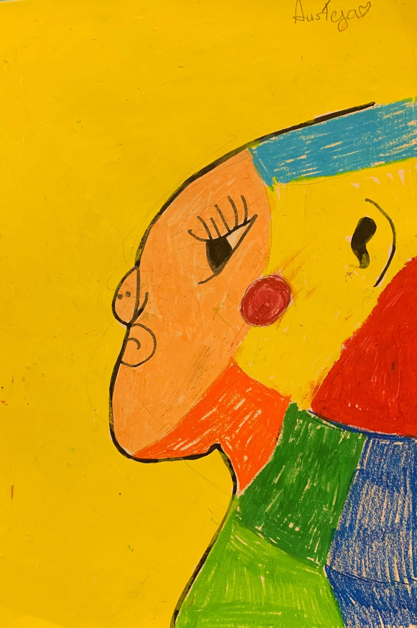 Au Picasso Portrait