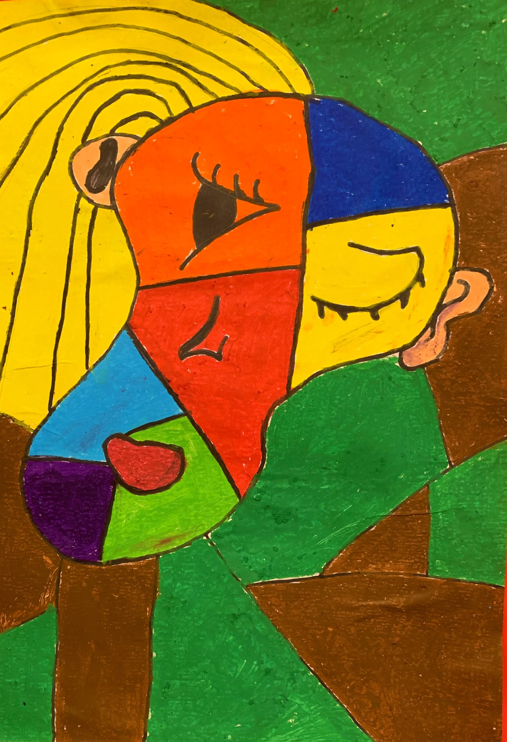 DA Picasso Portrait