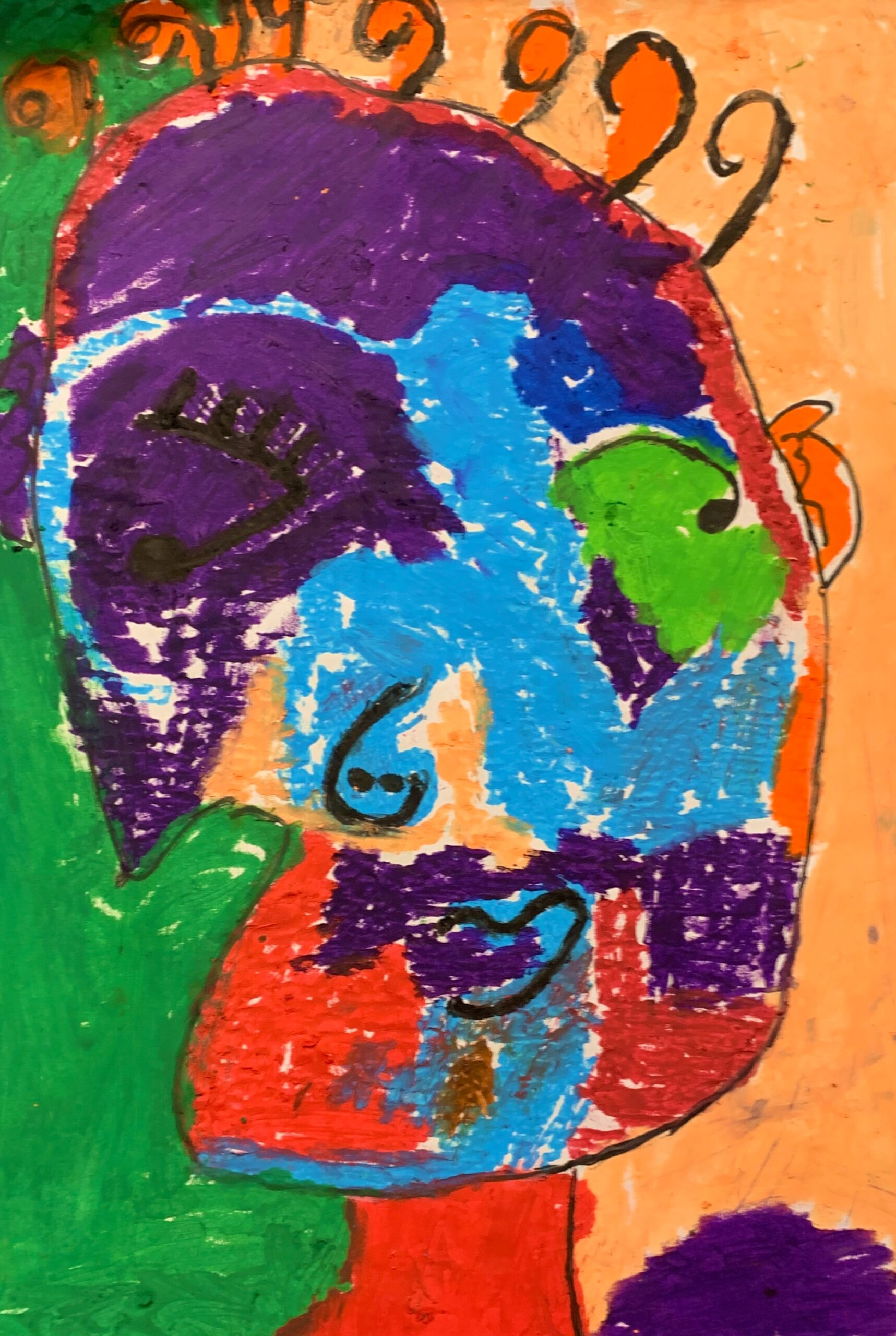 MoC Picasso Portrait