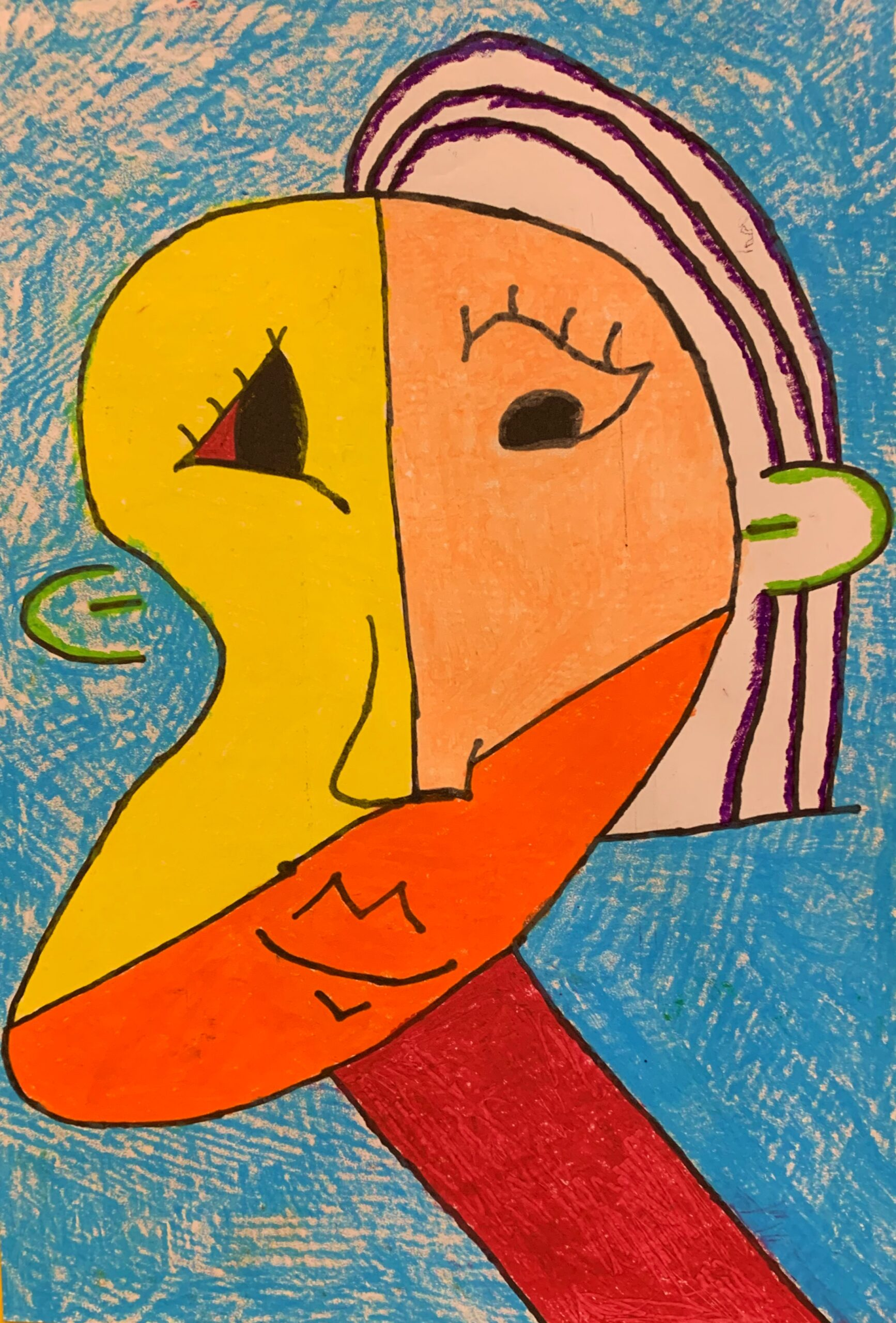 Sa Picasso Portrait