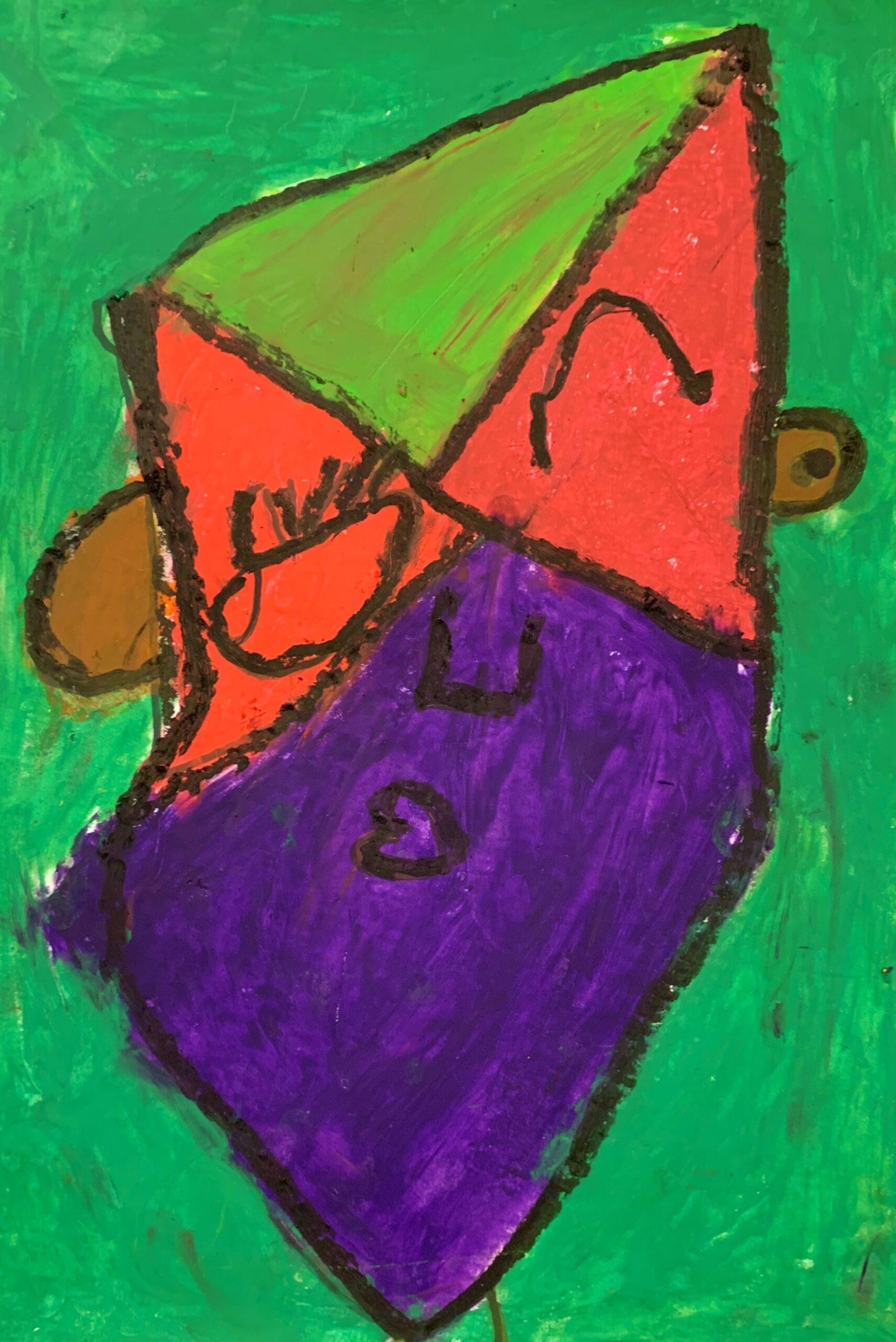 Teo Picasso Portrait